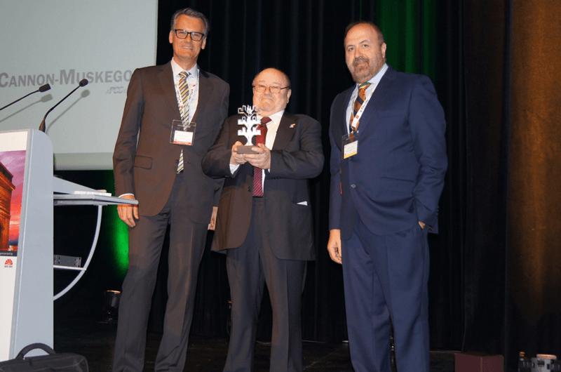2016 EICF Lifetime Achievement Award - Bernasconi