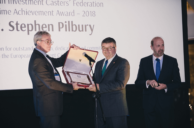 2018 EICF Lifetime Achievement Award - Pilbury
