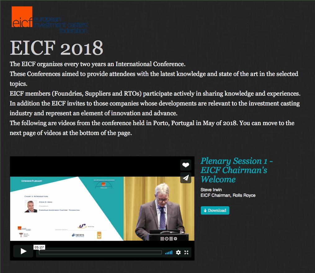 EICF 2018