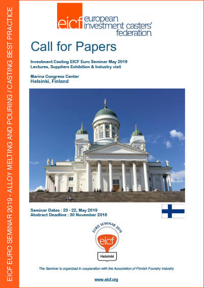 Call for papers, Helsinki 2019